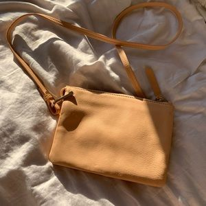 & Other Stories genuine leather crossbody